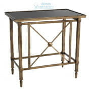 111348 Side Table Balcony antique brass finish Eichholtz