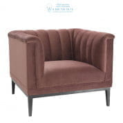 111431 Chair Raffles roche faded rose velvet Eichholtz