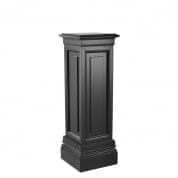 Column Salvatore waxed black finish 100cm колонна Eichholtz
