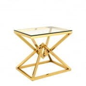 Side Table Connor gold finish SIDE TABLES Eichholtz