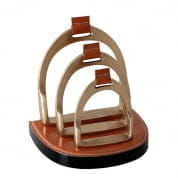 Letter Rack Venture aged brass finish декор Eichholtz