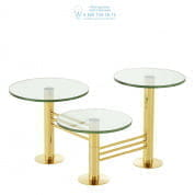 112453 Side Table Viva gold finish  Eichholtz