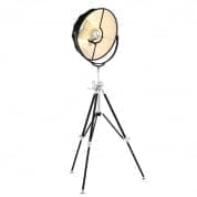 Floor Lamp Vertigo black finish торшер Eichholtz