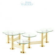 112452 Coffee Table Viva gold finish  Eichholtz