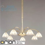 Люстра Orion Opaldesign LU 1599/7 gold-matt/438 klar-matt