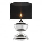 Table Lamp Pagoda nickel finish incl. shade настольная лампа Eichholtz