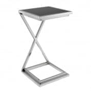 Side Table Cross nickel finish SIDE TABLES Eichholtz