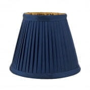 Mini Shade Vasari blue/ gold lining абажур Eichholtz