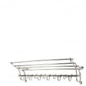 Coatrack Hudson nickel finish 70 cm COATRACKS Eichholtz