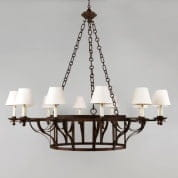 CL0153 Bayonne Chandelier большая люстра Vaughan