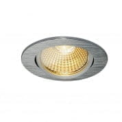 114386 SLV NEW TRIA 68 LED ROUND SET светильник 9W, 3000К, алюмин.