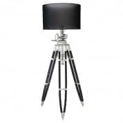Floor Lamp Royal Marine aluminium incl. shade торшер Eichholtz