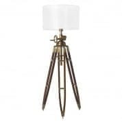 Floor Lamp Royal Marine brass finish incl. shade торшер Eichholtz