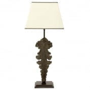 106392 Table Lamp Beau Site S antique green incl. shade настольная лампа Eichholtz