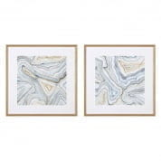 Prints EC211 Agate Abstracts set of 2  отпечаток Eichholtz