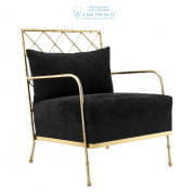 111088 Chair Bahamas vintage brass finish Eichholtz
