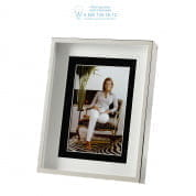 106168 Picture Frame Gramercy S silver finish Eichholtz