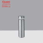 BW77 iWay round iGuzzini Bollard D=170mm H=610mm Warm White Led with electronic ballast and symmetrical optic