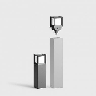LED system bollards Bega 84680
