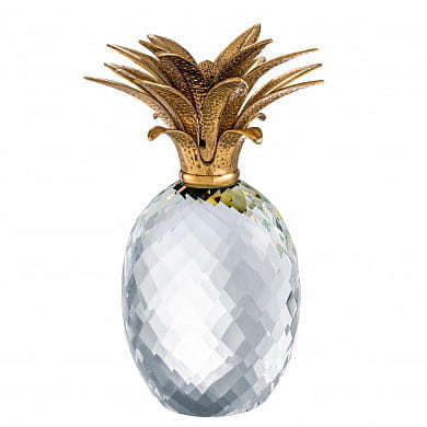 Pineapple crystal glass декор Eichholtz