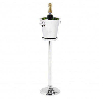 Wine Cooler Selous nickel finish on stand охладитель вина Eichholtz