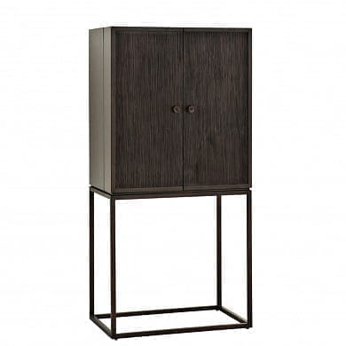 Cabinet DeLaRenta coffee finish Винный шкаф Eichholtz