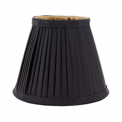 Mini Shade Vasari black/ gold lining абажур Eichholtz