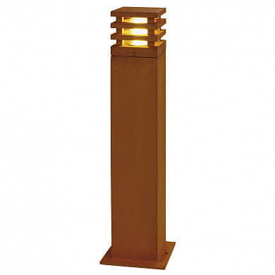 233437 SLV RUSTY SQUARE LED 70 светильник IP55 8.6W, 3000К, бурый