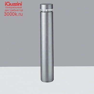 BW78 iWay round iGuzzini Bollard D=170mm H=1000mm Neutral White Led with electronic ballast and symmetrical optic