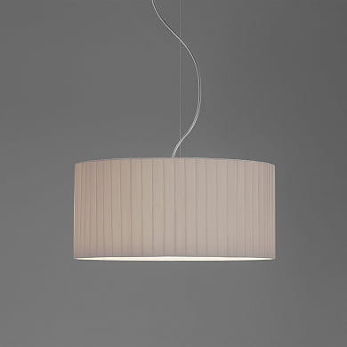 4164 Drum 400 Pleated Shade Pu абажур Astro lighting