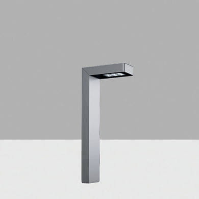 ALS3 Lander iGuzzini Bollard H=650 mm, Transversal Asymmetric Optic, Warm LED, DALI 220-240V ac